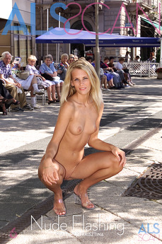 ALSScan - Krisztina - Nude Flashing by Als Photographer