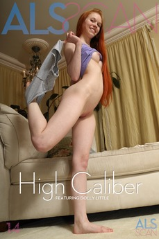 ALS Scan - Dolly Little - High Caliber by Als Photographer