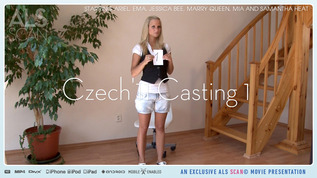 ALS Scan Czech'11 Casting 1 Ariel & Ema & Jessica Bee & Marry Queen & Mia & Samantha Heat