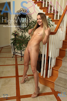 ALS Scan - Naomi Swann - High Wire by Als Photographer