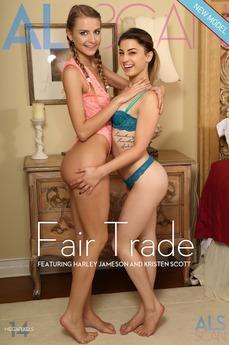 ALS Scan - Harley Jameson & Kristen Scott - Fair Trade by Als Photographer