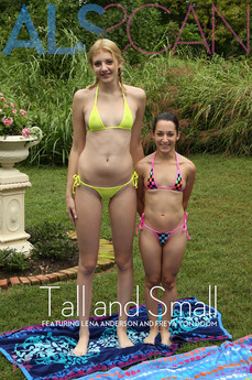ALS Scan - Freya Von Doom & Lena Anderson - Tall and Small by Als Photographer