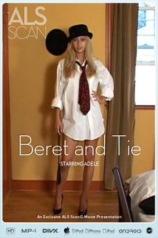 Beret and Tie