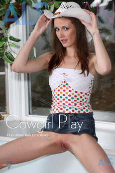 ALS Scan - Hailey Young - Cowgirl Play by Als Photographer