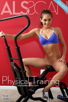ALS Scan - Sara Luvv - Physical Training by Als Photographer