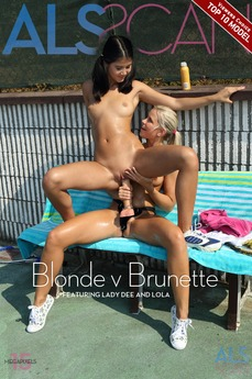 ALS Scan - Lady Dee & Lola - Blonde v Brunette by Als Photographer