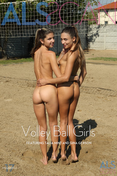 ALS Scan - Gina Gerson & Talia Mint - Volley Ball Girls by Als Photographer