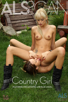 ALS Scan Country Girl Blue Angel & Erica Fontes