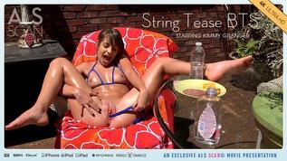 String Tease BTS