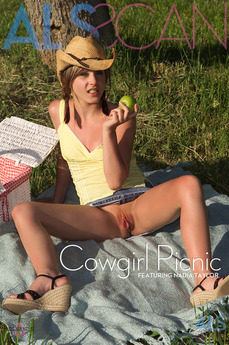 ALS Scan - Nadia Taylor - Cowgirl Picnic by Als Photographer