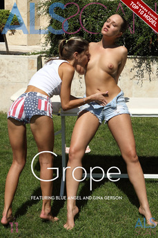 ALSScan - Blue Angel & Gina Gerson - Grope by Als Photographer