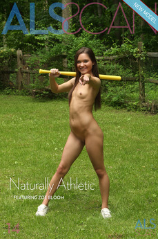 ALSScan - Zoe Bloom - Naturally Athletic by Als Photographer