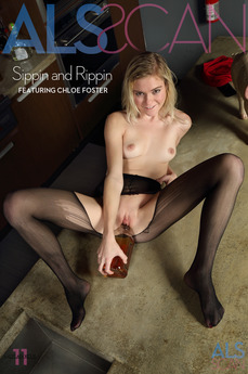 ALS Scan - Chloe Foster - Sippin and Rippin by Als Photographer