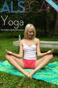 ALS Scan - Sierra Nevadah - Yoga by Als Photographer