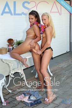 ALS Scan - Emma Brown & Kiara Lord - Garage Sale by Als Photographer