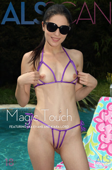 ALS Scan - Kiara Lord & Mia Evans - Magic Touch by Als Photographer