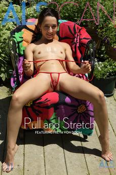 ALS Scan - Freya Von Doom - Pull and Stretch by Als Photographer
