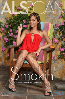ALS Scan Smokin' Nikita Williams & Yasmine