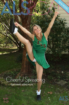 ALS Scan - Addee Kate - Cheerful Spreading by Als Photographer