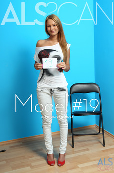 ALS Scan Model #19 Antonya