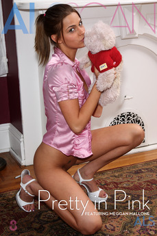 ALS Scan - Meggan Mallone - Pretty in Pink by Als Photographer