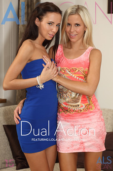 ALS Scan - Gina Devine & Lola - Dual Action by Als Photographer