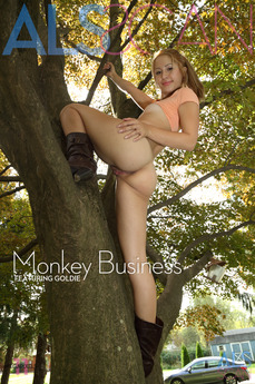 ALS Scan - Goldie - Monkey Business by Als Photographer