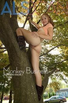 ALSScan - Goldie - Monkey Business by Als Photographer