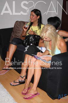 ALS Scan Behind the Scenes Angelica Heart & Jasmine Black & Juliette Shyn & Laura King & Mia Moon & Nicole A & Regina Ice & Sandy & Suzy Black & Tea Blondie