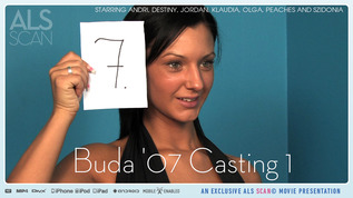 ALS Scan Buda'07 Casting 1 Andri & Destiny & Jordan & Klaudia & Olga & Peaches & Szidonia