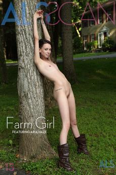 ALSScan - Aria Haze - Farm Girl by Als Photographer