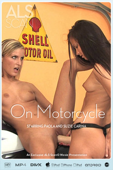 On Motorcycle