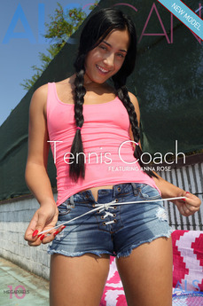 Tennis coach. Tennis Coach featuring Ana Rose by Als Photographer
